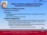 what is student engagement and why is it important for student success