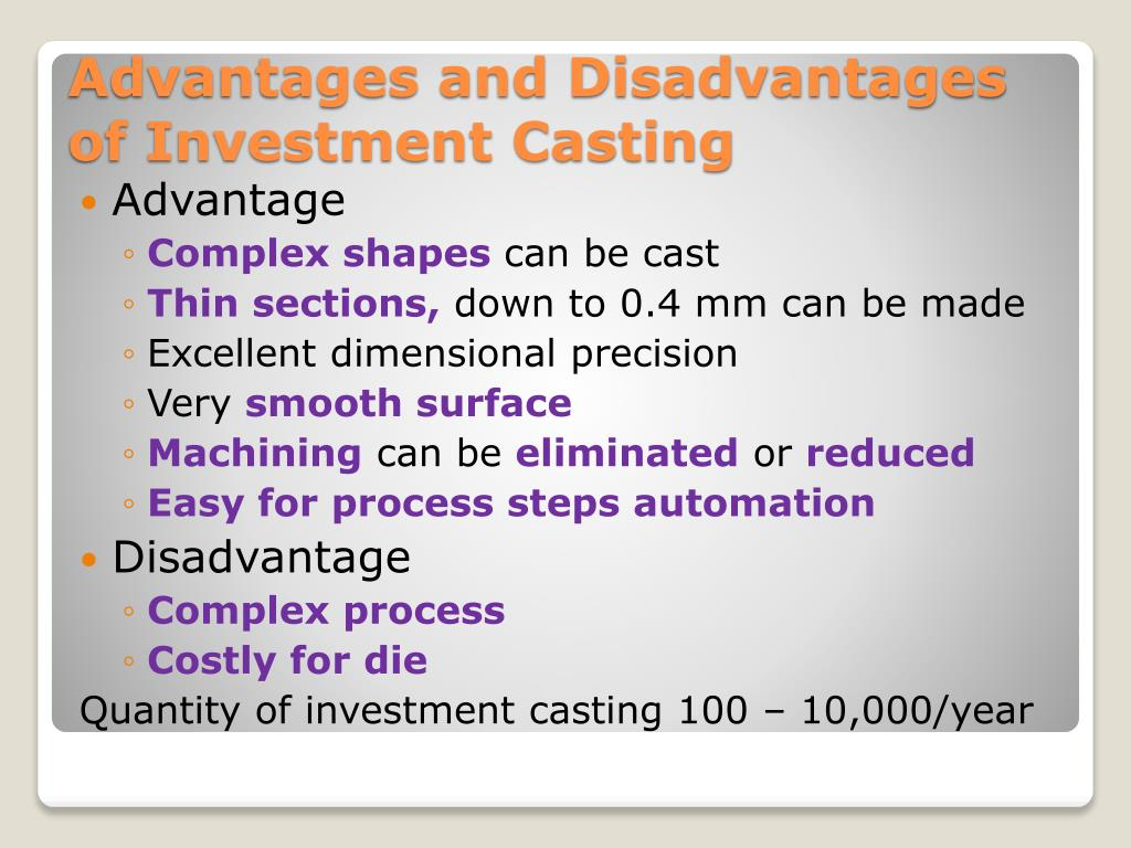 Top Five Investment Casting Process Steps - Circus