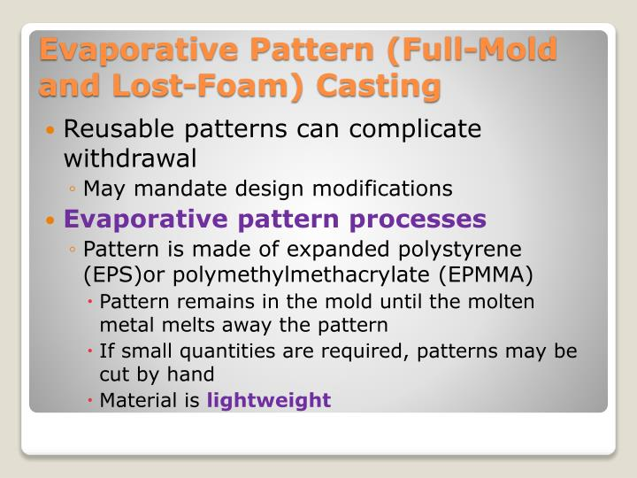 Reusable patterns can complicate withdrawal