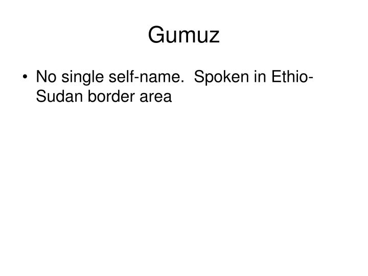 Gumuz