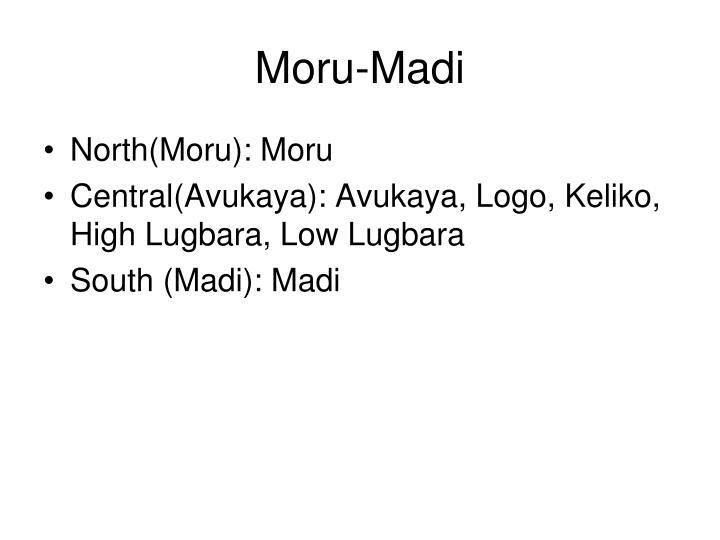 Moru-Madi