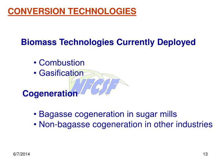 CONVERSION TECHNOLOGIES