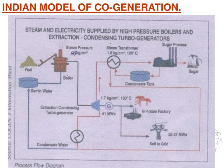 INDIAN MODEL OF CO-GENERATION.