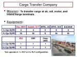 cargo transfer company