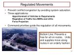 regulated movements