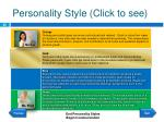 personality style click to see