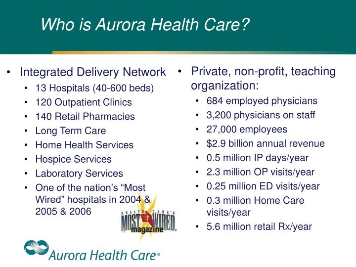 Who is aurora health care