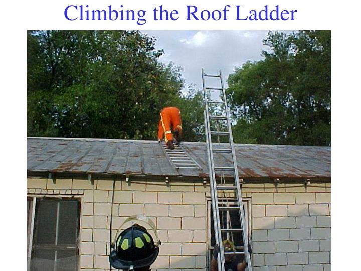 Climbing the Roof Ladder