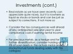 investments cont3