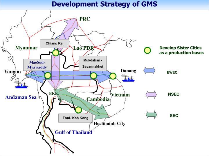 Development Strategy of GMS