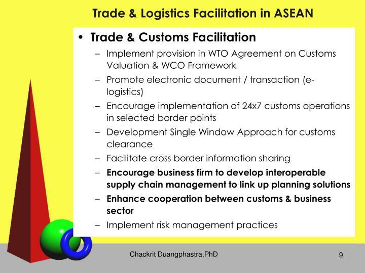 Trade & Logistics Facilitation in ASEAN