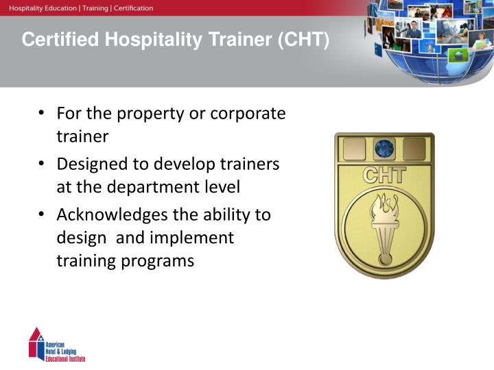 Ppt Hospitality Professional Certification For Your Team
