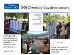 s06 chemistry capstone posters