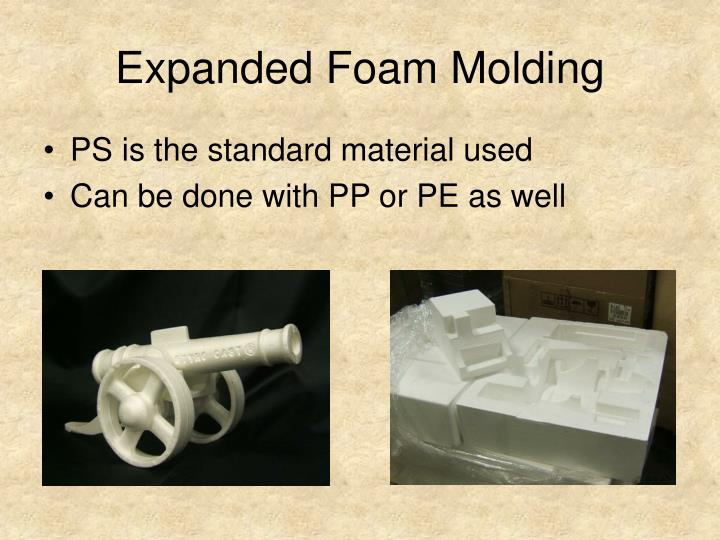 Expanded Foam Molding