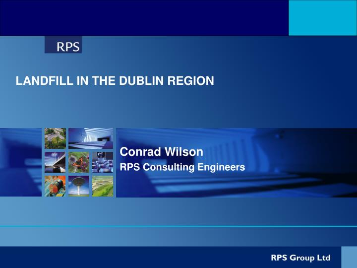 conrad wilson rps consulting engineers n.