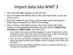 import data into wwt 3