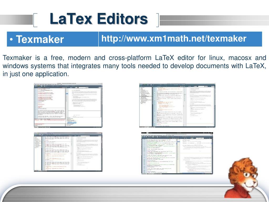Latex Editor