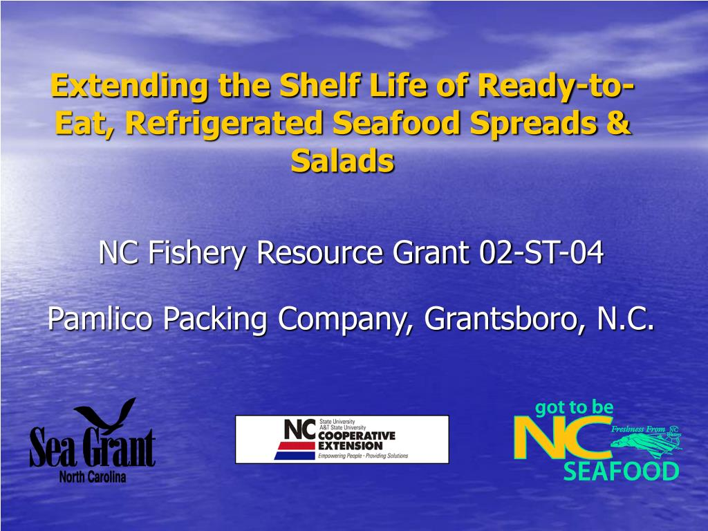 Extending the Shelf Life of Ready-to-Eat, Refrigerated Seafood Spreads & Salads