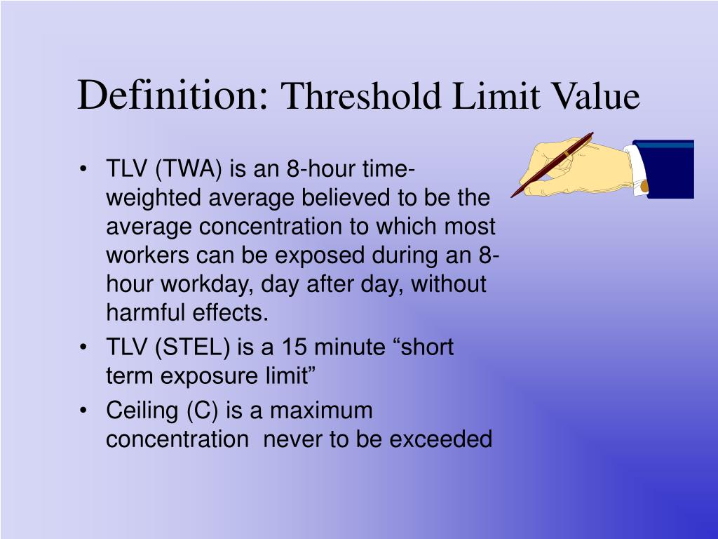 Threshold Limit Values for Physical Agents ...