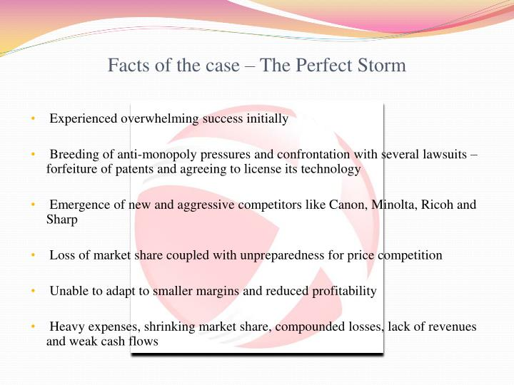 anne mulcahy leading xerox through the perfect storm Please click on the choices below to learn more about this product anne mulcahy: leading xerox through the perfect storm (b.