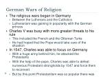 german wars of religion