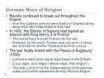 german wars of religion1