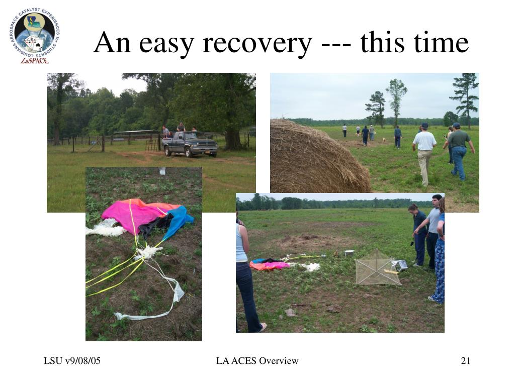 An easy recovery --- this time