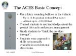 the aces basic concept
