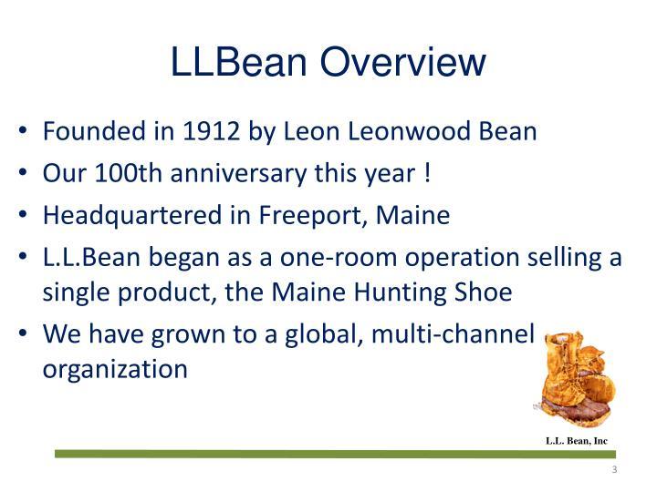 Llbean overview