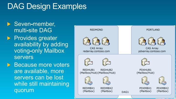 DAG Design Examples