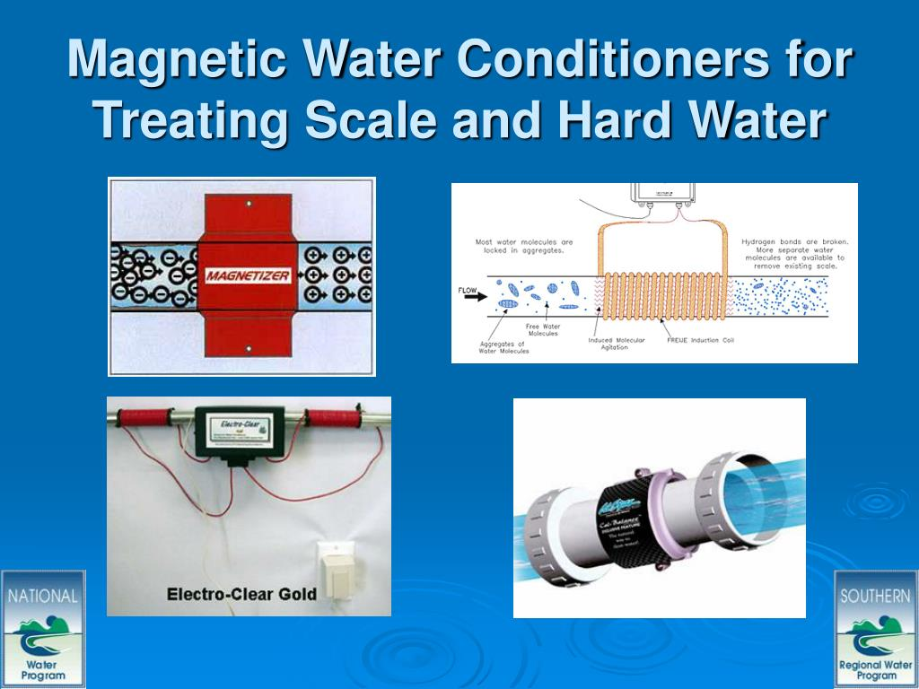 Magnetic Water Conditioners for Treating Scale and Hard Water