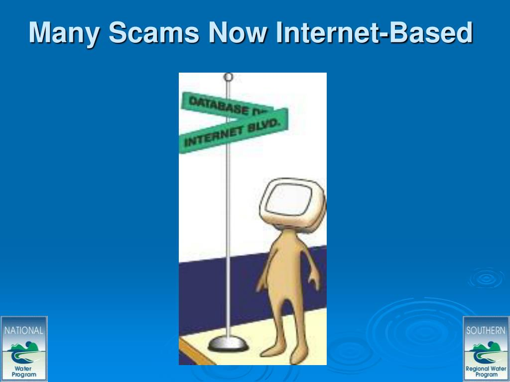 Many Scams Now Internet-Based