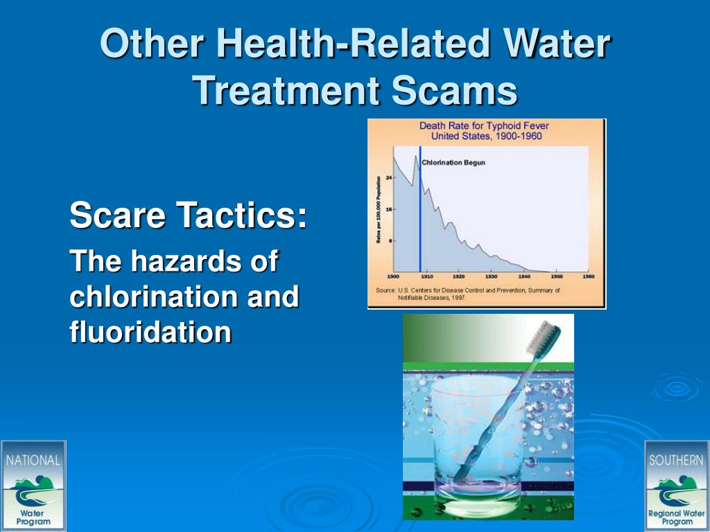 Other Health-Related Water Treatment Scams