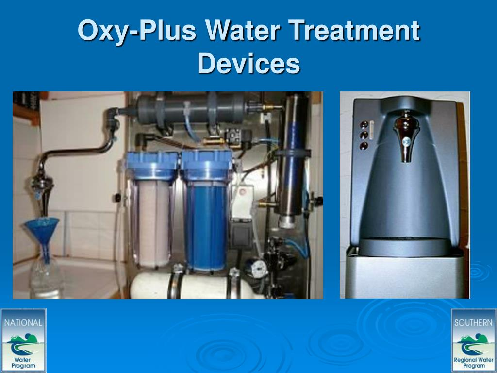 Oxy-Plus Water Treatment Devices