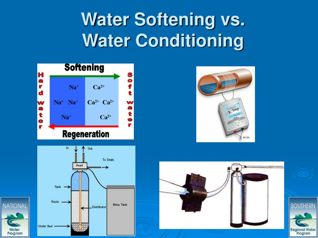 Water Softening vs. Water Conditioning