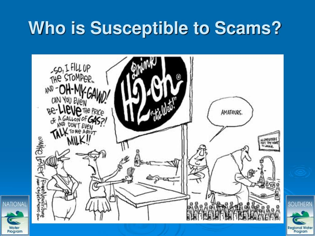 Who is Susceptible to Scams?