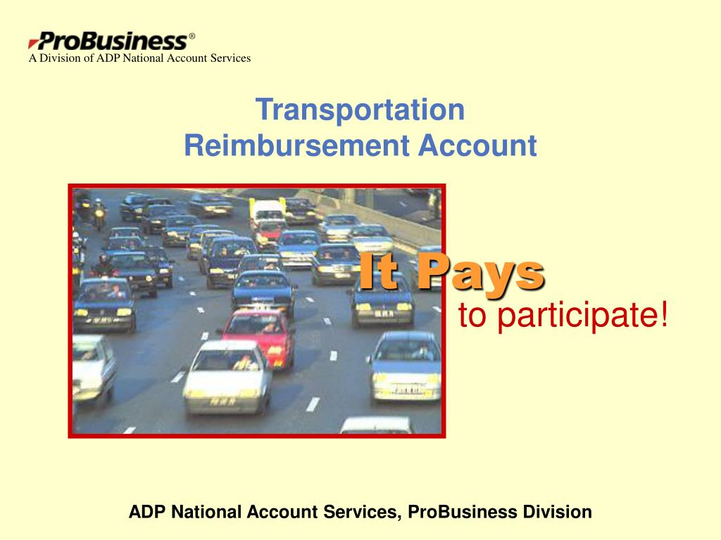 transportation reimbursement account l.