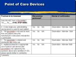 point of care devices1