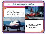 air transportation6
