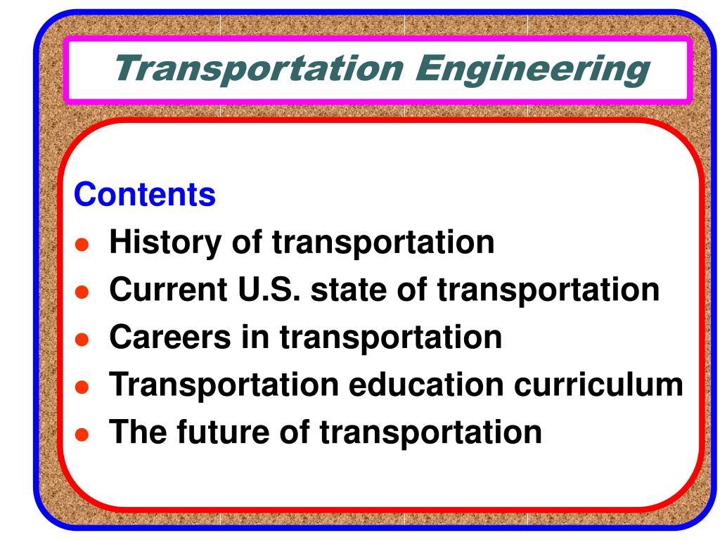 transportation engineering l.