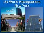 un world headquarters new york