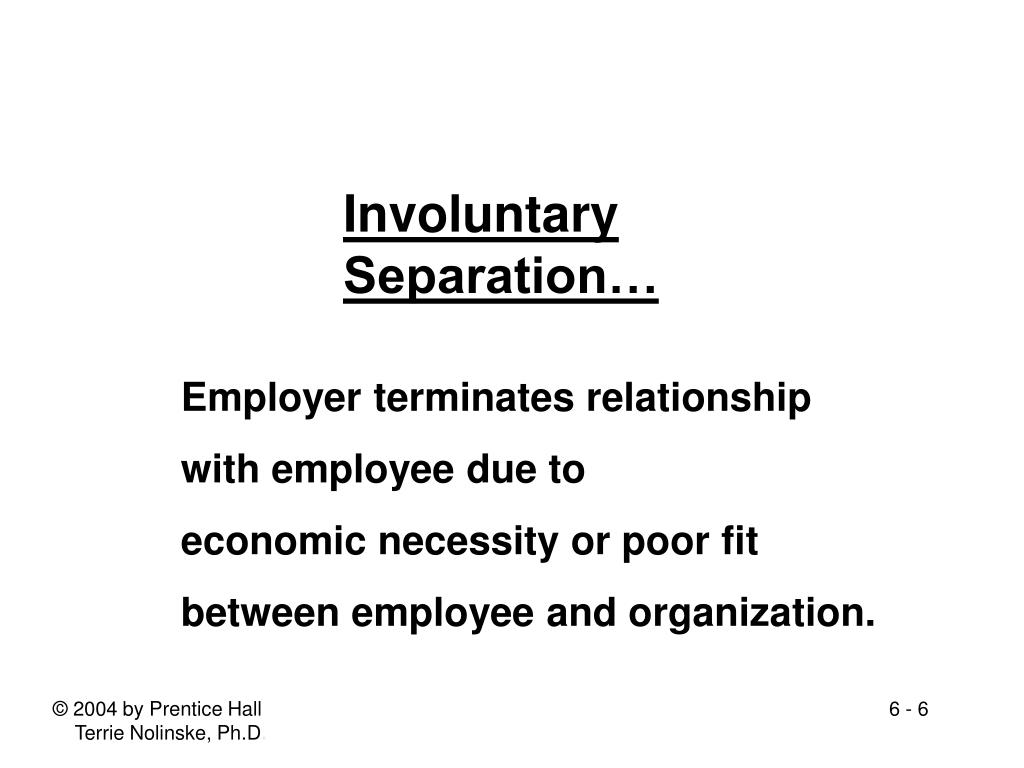 PPT - 6 Managing Employee Separations, Downsizing, and Outplacement