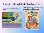 books to help a child deal with moving