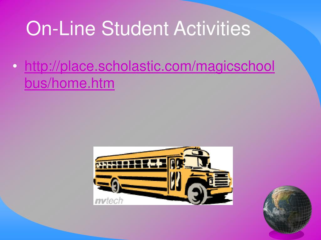 On-Line Student Activities