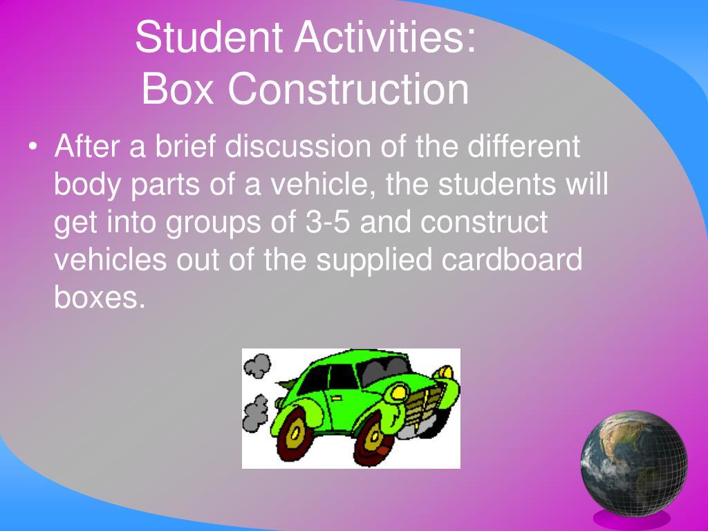 Student Activities: