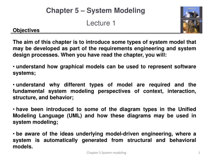 chapter 5 system modeling n.
