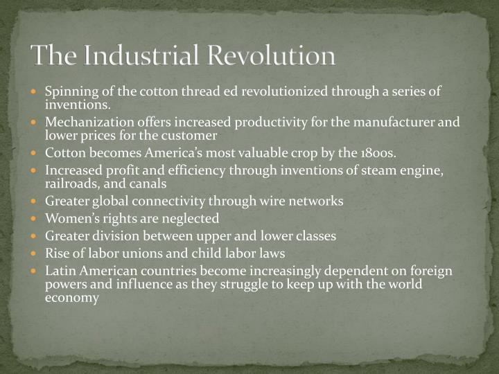 labor unions industrial revolution essay Free essay: as america became more industrial more people left their farms and small towns to work in the city so they could pay their expenses, whatever.