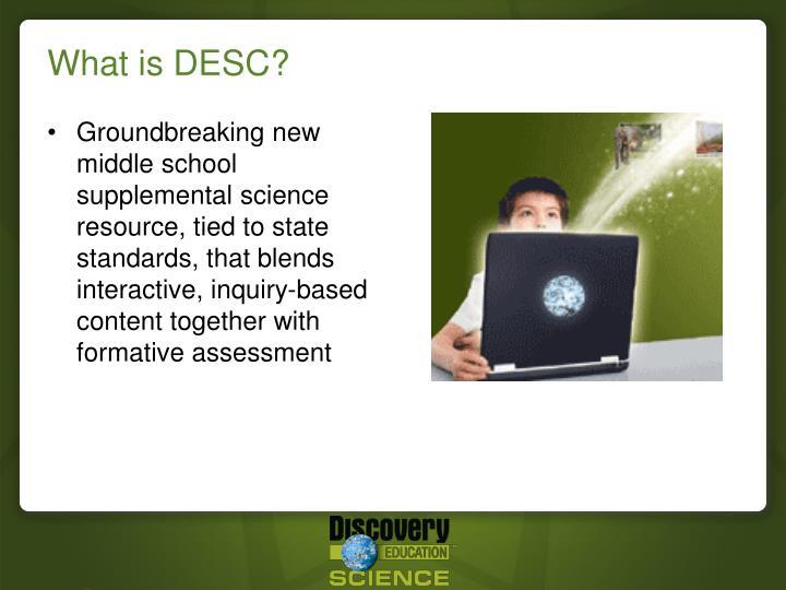 What is desc