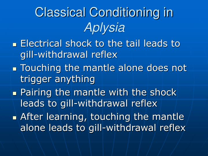 Classical Conditioning in