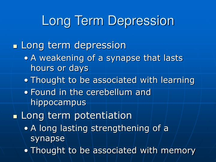 Long Term Depression